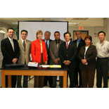 Former EPA Administrator and New Jersey Governor Christine Whitman visits FIU's Engineering Center