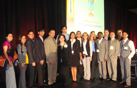 DOE Fellows and ARC Staff Participate in the Department of Energy's 2009 Waste Management Conference