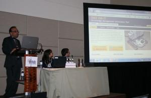 Himanshu Updhyay presenting D&D KM-IT