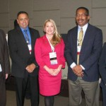 Leo Lagos and Heidi Henderson with panel members at WM2012