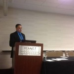 Dr. Lagos presenting D&D technology research at DD&R 2012