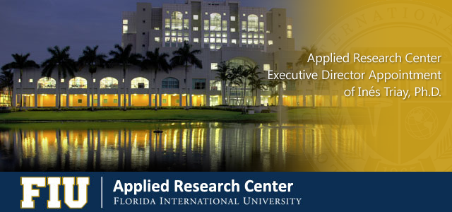 Applied Research Center Executive Director Appointment