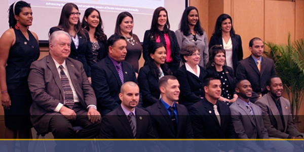 Florida International University's Applied Research Center  Hosts the 2012 DOE Fellows' Induction Ceremony