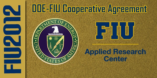 2012 DOE-FIU Cooperative Agreement