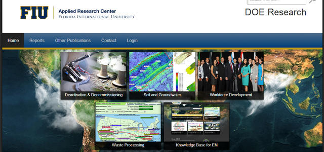 ARC Launches Website for Research Sponsored by DOE EM