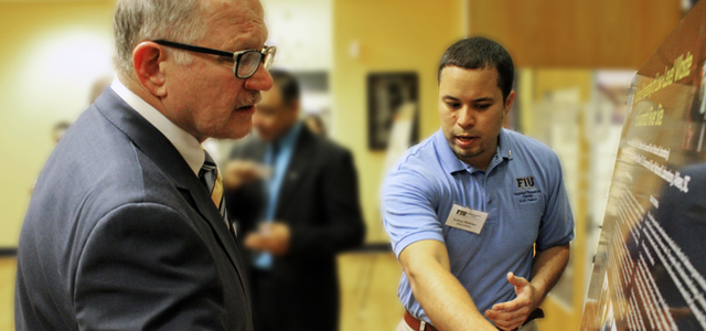 DOE Fellows and ARC staff participate in FIU's College of Engineering Research Day