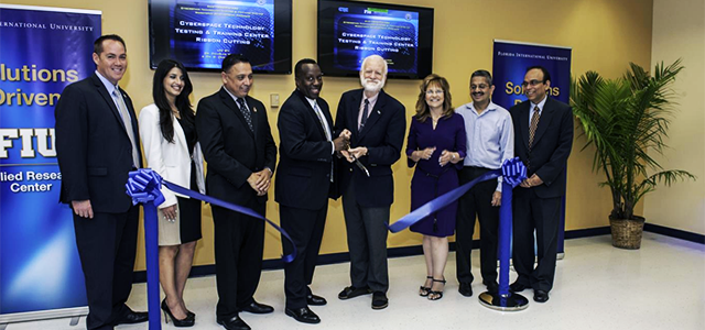 FIU's Applied Research Center launches its Cyberspace Technology Testing and Training Center (CT3C)