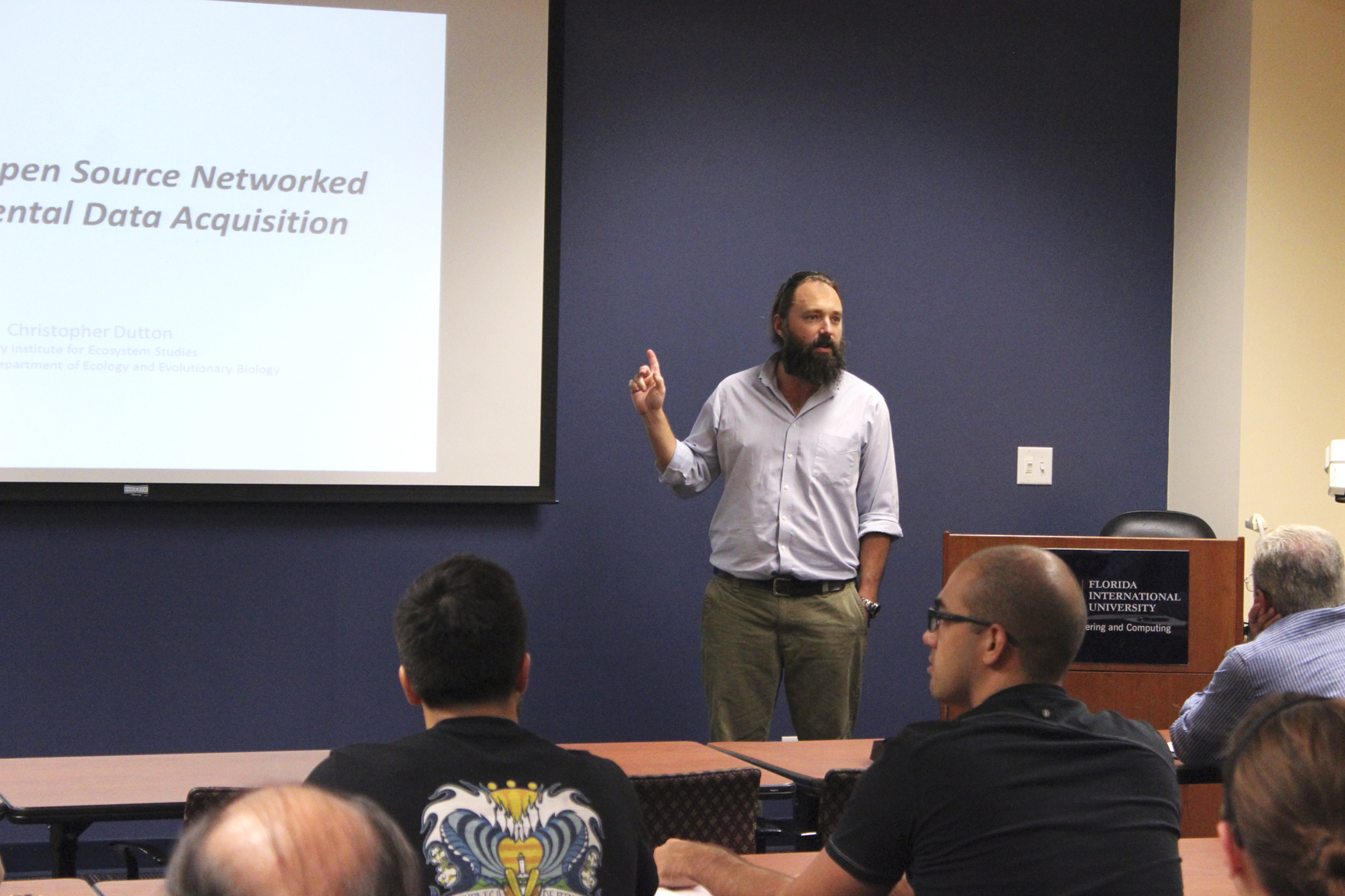 Low-Cost Open Source Networked Environmental Data Acquisition Seminar
