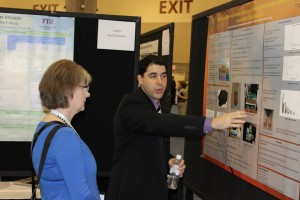 DOE Fellows (Hansell Gonzalez) at WM15 Student Poster Competition/Exhibition