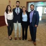 DOE Fellows (Kiara Pazan, Christian Pino, Christine Wipfli, and Aref Shehadeh