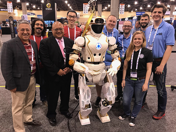 Universities Display Robotics Critical to EM Cleanup at Conference