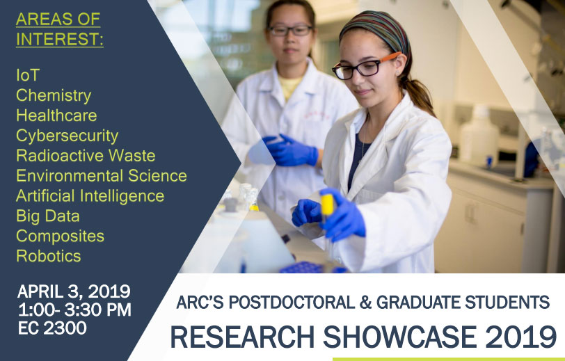ARC's Postdoctoral & Graduate Students Research Showcase 2019