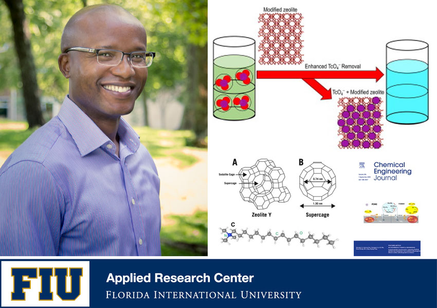 FIU ARC Scientist has Research Published in the Chemical Engineering Journal